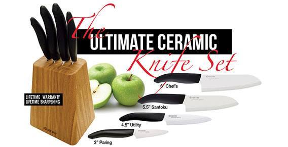 Ultimate Ceramic Knife Set